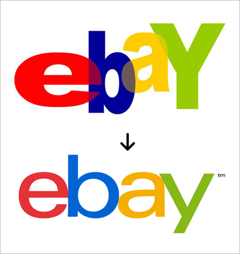 After 17 Years, eBay Tones Down Its Crazy Logo | A New World | Scoop.it