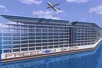 Une ville flottante qui ferait le tour du monde - Le Vif | Le bateau au fil de l'eau et de l'histoire 3°3: | Scoop.it