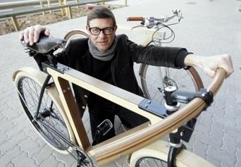 Le premier vélo français en bois est strasbourgeois - L'Alsace.fr   Ecoloisirs   Scoop.it