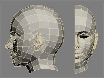 Modeling human head in 3DS MAX | Whuuut? | Scoop.it