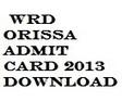 WRD Odisha Admit Card 2013 Download Hall Ticket | www.dowrodisha.gov.in | Best Students Portal | students9 | Scoop.it