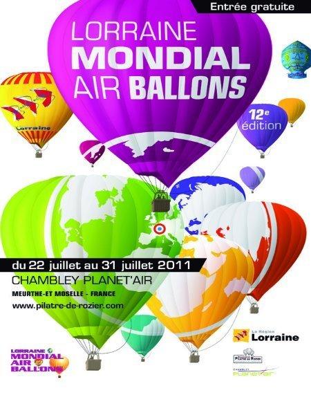 Lorraine Mondial Air Ballons 2011|METZ | Aérostation, ballons et dirigeables | Scoop.it