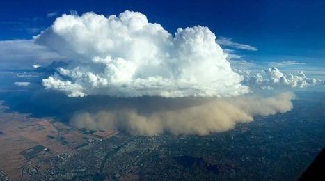 Etats-Unis: Une tempête de sable vue du ciel de Phoenix | Planete DDurable | Scoop.it