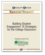 Building Student Engagement: 15 Strategies for the College Classroom | audio podcasts | Scoop.it