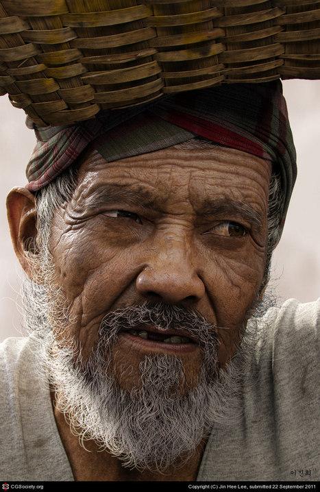 Illustration : Oldman, par Jin Hee Lee - Actualité sur 3DVF.com. | Infographie 3D | Scoop.it