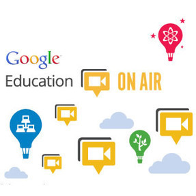 Google Education on Air: Edúcate a tí mismo! | GeeksRoom | Escuela y Web 2.0. | Scoop.it