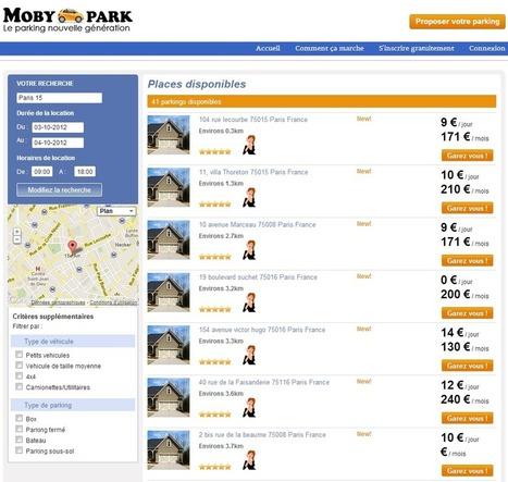 MobyPark, le Airbnb des parkings, plaide pour la consommation collaborative | Locita.com | L'ère de la consommation collaborative | Scoop.it