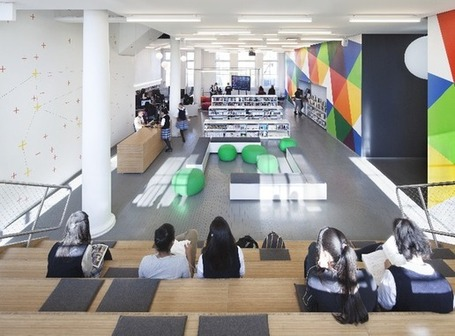 Designing Libraries That Encourage Teens to Loiter | innovative libraries | Scoop.it