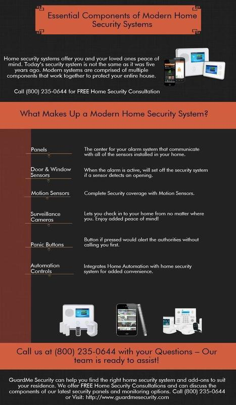 Important Parts Of The Alarm System | Home Security System New Jersey | Scoop.it