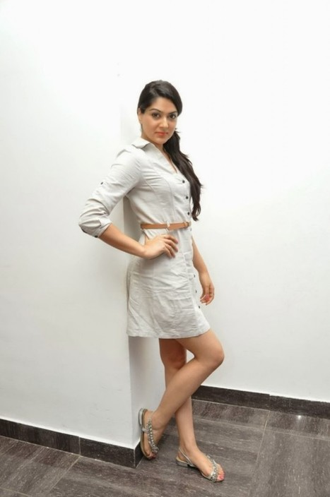 Cute Girl Sakshi Chowdary in White Mini Dress at Potugadu Movie Platinum Disc Function IndianRamp.com, Actress, Tollywood, Western Dresses | Indian Fashion Updates | Scoop.it