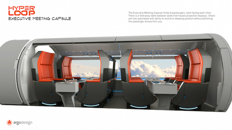This is What Elon Musk's Hyperloop Could Look Like | Le It e Amo ✪ | Scoop.it