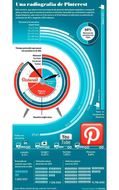 Pinterest: crecimiento y tipos de usuarios | Comunidades | Scoop.it