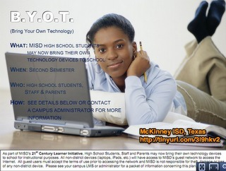 Around the Corner-MGuhlin.org: BYOT/BYOD - Dealing with the Fallout (Updated) | Bring Your Own Device | Scoop.it