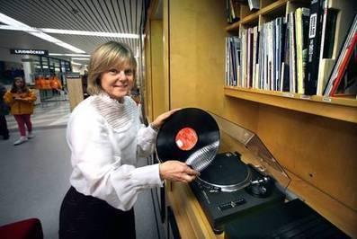 Stadsbibliotekets vinyler har blivit inne igen | Karlstads stadsbibliotek | Scoop.it