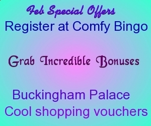 Feb Special Offers for New Players at Comfy Bingo   UK Bingo Place   Scoop.it
