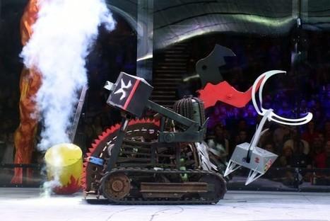 Faut-il interdire les combats de robots ? | Numérique au CNRS | Scoop.it