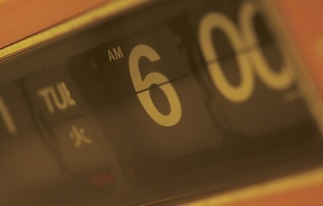 6 Ways to Make Getting Up Early Work for You | Productivity - fighting the chaos | Scoop.it