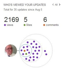 How I got 2169 profile views on LinkedIN in less than 30 days! | Google Panda: SEO is fading away | Scoop.it