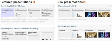 SlideWiki - create great presentations collaboratively | Skolbiblioteket och lärande | Scoop.it