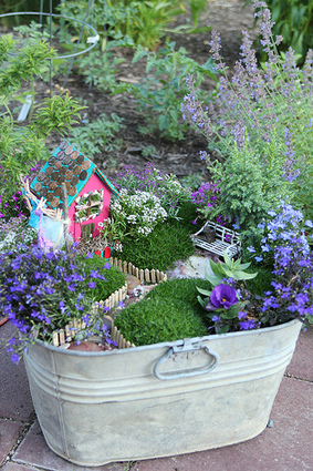 There Are Fairies Living In TheGarden | Upcycled Garden Style | Scoop.it