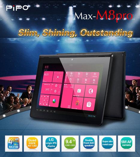 Tablette tactile PIPO MAX M8pro - 9.4 pouces | Tablettes tactiles | Scoop.it