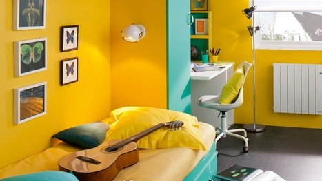 [Déco] Palette de peintures vitaminées pour l'été | IMMOBILIER 2015 | Scoop.it