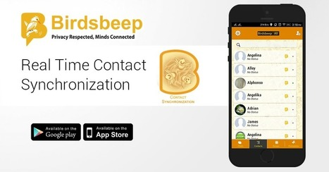 Is Real Time Contact Synchronization Possible in BirdsBeep IM chat app? | Birds Beep | Scoop.it