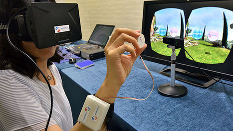 Touching a 3D virtual reality world | Immersive World Technology | Scoop.it