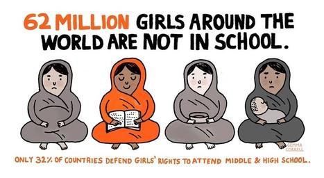 62 million girls around the world are not in school | Social Media Slant 4 Good | Scoop.it