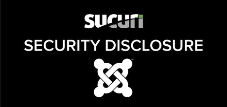Critical 0-day Remote Command Execution Vulnerability in Joomla - Sucuri Blog | Hacking Wisdom | Scoop.it
