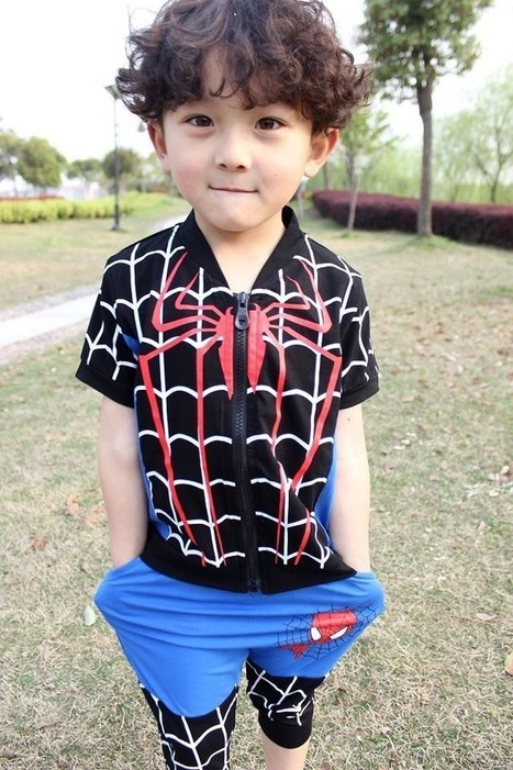 Spider-Man Baby Boy Summer Clothes Set | Clothing at SMA-STAR | Scoop.it