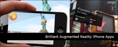 45 Brilliant Augmented Reality iPhone Apps | Cyborg Lives | Scoop.it