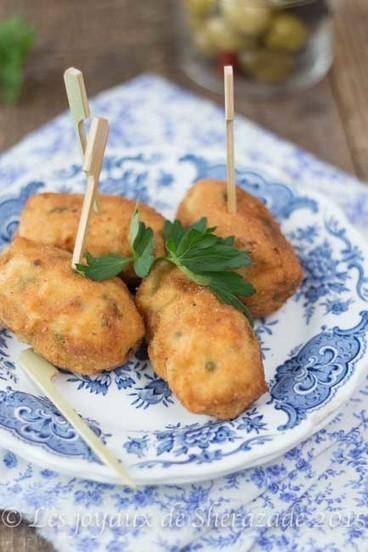 Croquettes de poulet fait maison | Les recette de les joyaux de sherazade | Scoop.it