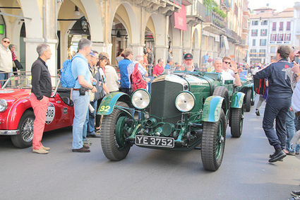 20140515 Italie Brescia - 1000 Miglia - Bentley 6L5 Tourer -(1927)-006 | Voitures anciennes - Classic cars - Concept cars | Scoop.it