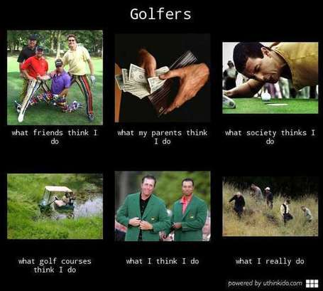 Golfers | What I really do | Scoop.it