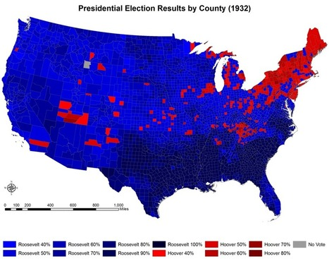 The Election of 1932 - Boundless Open Textbook | Depression v. Recession | Scoop.it