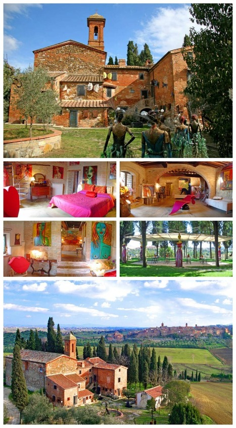 An Artist's Residence In The Heart Of Tuscany | Italia Mia | Scoop.it