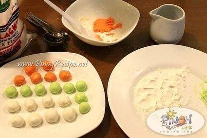 How to make Bilo Bilo or Sticky Glutinous Rice Balls | Filipino Recipes Collection | Scoop.it