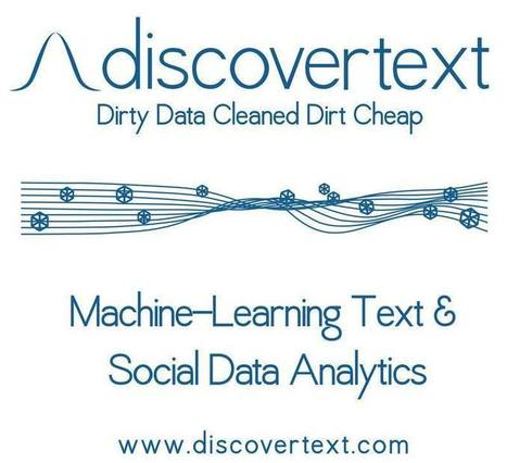 Scholarly Mentions of DiscoverText | Text Analytics | Scoop.it