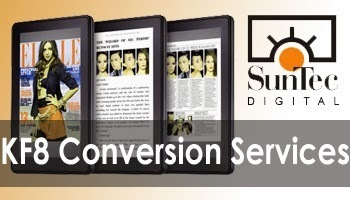 Get Amazing Kindle Books with KF8 Conversion Services « SunTec Digital | Digital Publishing, Document Conversion Services | Scoop.it