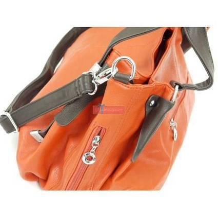 Orange Leather Ladies Handbag | Orange Leather Ladies Handbags | Scoop.it