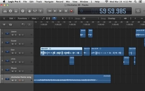 How to get started in podcasting: editing the audio | Podcasts | Scoop.it