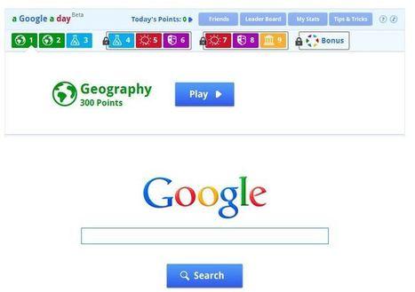 A Google A Day, ¿jugamos? | Recursos, aplicaciones TIC, y más | Scoop.it