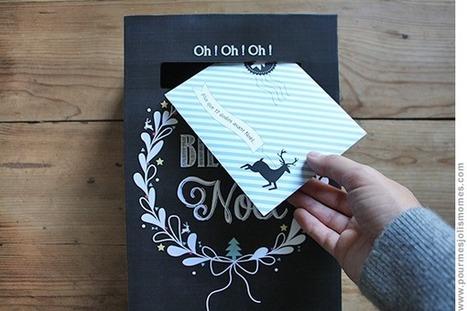 pour mes jolis mômes, mais pas que...: La boîte aux lettres de l'avent (calendrier DIY) | Bricolage pour mes enfants | Scoop.it
