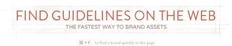 Find guidelines on the web. The fastest way to brand assets. | Marketing pour les PME | Scoop.it