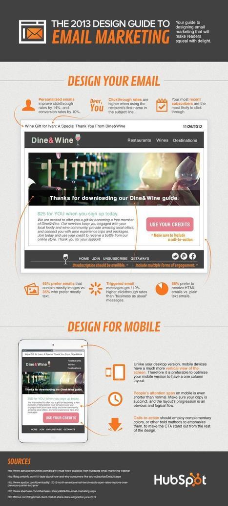 Twitter / optinlists: Email Marketing Design Guide ... | emarketing | Scoop.it