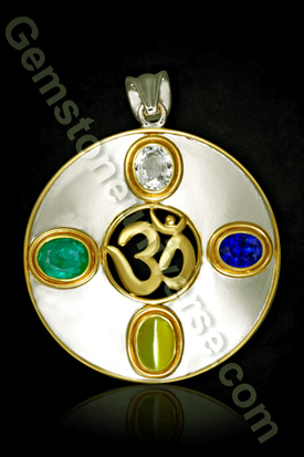 Precious Jyotish Gemstones | Om Pendant of Gemstones | Jyotish Gemstones and Planetary Gemology | Scoop.it