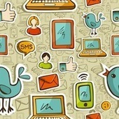 A History Of Social Media (1971-2012) [INFOGRAPHIC] - AllTwitter | Social Justice and Media | Scoop.it