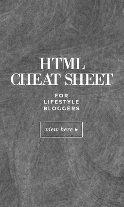 HTML Cheat Sheet for Beginners | Blog it and Curation | Scoop.it