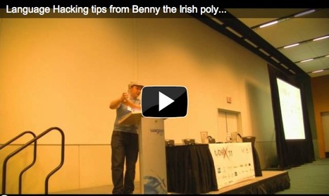 Benny the Irish Polyglot shares language learning tips at TBEX '11 | Matador Radar | Learning Languages | Scoop.it